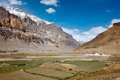 Spiti Valley. Himachal Pradesh, India Stock Photos