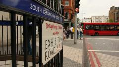 South Kensington, London - stock footage