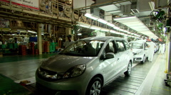Automobile Manufacturing India - stock footage