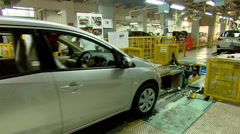 Automobile Manufacturing India Stock Footage