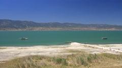 Lake Burdur, Turkey Country Stock Footage