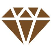 Stock Illustration of Diamond Icon from Commerce Set