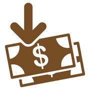 Gain Icon from Commerce Set - stock illustration