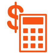 Calculation Icon from Commerce Set - stock illustration
