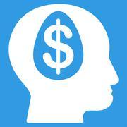 Banker Icon from Commerce Set - stock illustration
