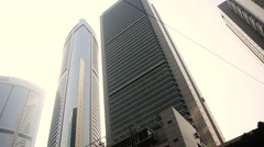 High buildings in Hong Kong. Stock Footage