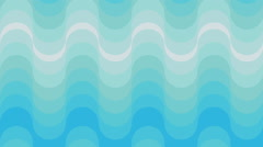 Blue Retro wallpaper animation - stock footage