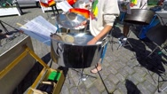 Stock Video Footage of Playing steel pans