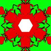 Stock Illustration of Abstract kaleidoscopic pattern