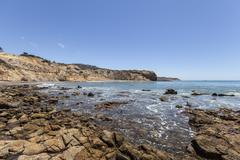 Abalone Cove Coast in Southern California Stock Photos