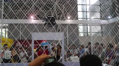 The first Chinese intelligent equipment industry expo held in Shenzhen Stock Footage