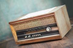 Retro radio Stock Photos