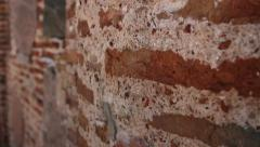 Background of stone wall texture Stock Footage