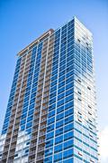 Brand new executive apartments - stock photo