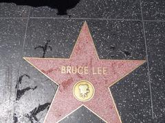 Bruce Lee Walk of fame - stock photo