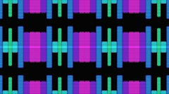 VJ DJ Equalise Levels Graphic Background Stock Footage