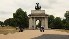 Wellington arch, London Stock Footage
