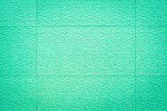 Green tile texture background. - stock photo