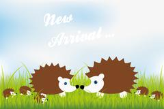 New arrival - stock illustration
