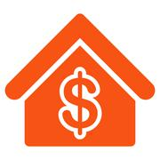 Mortgage Icon from Commerce Set Stock Illustration
