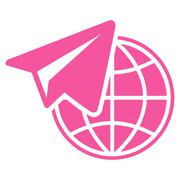 Freelance Icon from Commerce Set - stock illustration