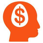 Banker Icon from Commerce Set Stock Illustration