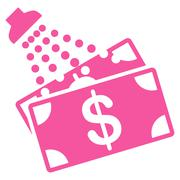 Money Laundry Icon from Commerce Set - stock illustration