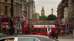 Whitehall, London Stock Footage