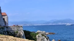 Antibes, France - the Bay Stock Footage