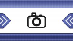 Camera icon on a pixel screen. Seamless. Stock Footage