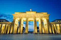 Stock Photo of Brandenburg Gate - morning in Berlin, Germany