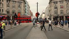 Oxford circus, London Stock Footage