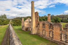 Penitentiary Tasmania Stock Photos