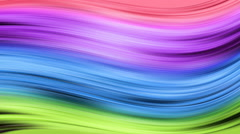 Color waves changes colors in throughout the spectrum,computer generated Stock Footage