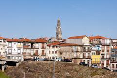 Porto City Skyline in Portugal - stock photo