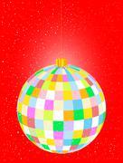 Christmas Globe - stock illustration