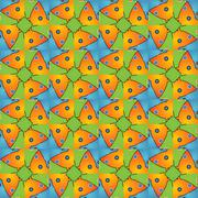 Cute baby real fun designer pattern Stock Illustration