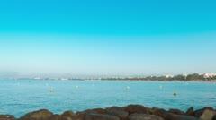 Mediterranean Sea, Spain, 4k Europe Stock Footage