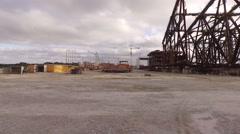 Pier of Pontal do Paraná Stock Footage