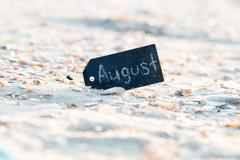 August background Stock Photos