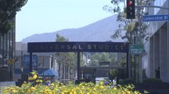 Universal Studio Gate Stock Footage