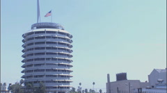 Capitol Records Building Stock Footage