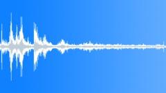 Thunder Rain Clap Medium Rumble Mono Sound Effect