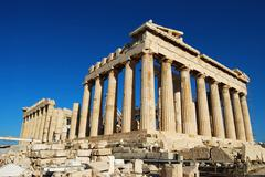 Parthenon in Acropolis - stock photo