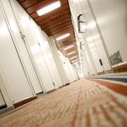 A hotel's corridor Kuvituskuvat