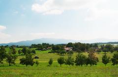 Country side slovenia Stock Photos