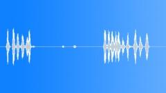 Animals Dogs Big Barking Growling Slowly Mono Sound Effect