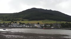 Carlingford Village View Stock Footage