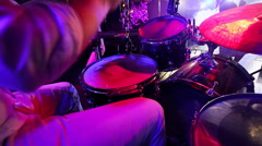 The band plays live Stock Footage