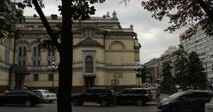 Kyiv Opera in Kiev City Center National Opera of Ukraine in Kyiv Stock Footage